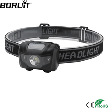 boruit rj 5000 xml t6 r2 headlight 4 mode headlamp power bank head torch hunting camping flashlight 18650 battery light BORUiT 3W Powerful Mini Headlamp Red Light LED Headlight 4-Mode Waterproof Head Torch Camping Hunting Flashlight AAA Battery