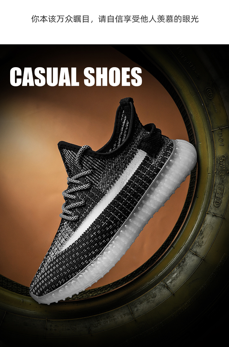 Breathable Casual Shoes Men's Light Sneakers Shoes In Shoes Mesh Shoes Fashion Outdoor Casual Shoes For Mens  Transparent Bottom