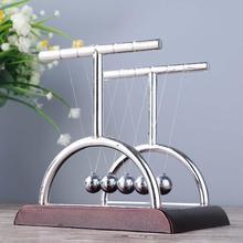 Newton's Cradle Balance Balls Physics Science Pendulum Ball Desk Ornaments Toy 40FP20