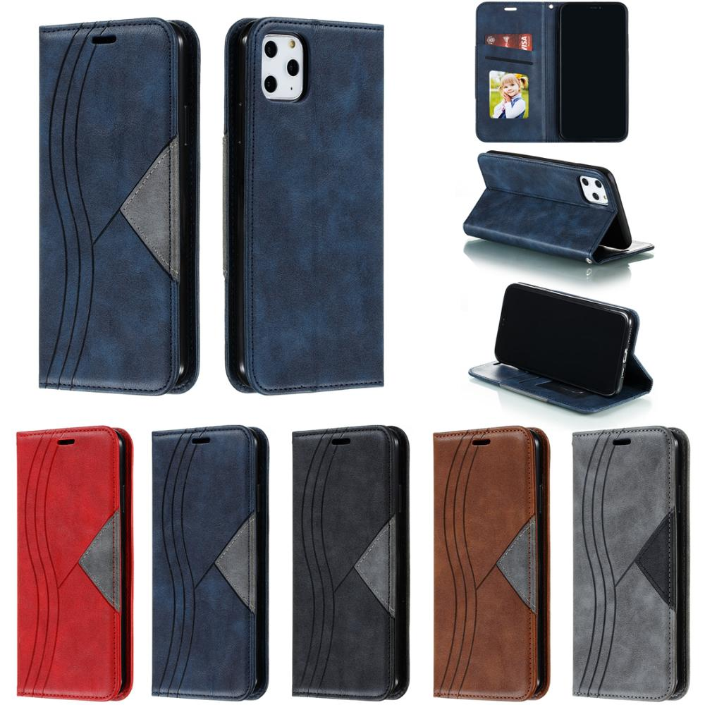 Colors <font><b>Case</b></font> for <font><b>iPhone</b></font> Xs Max Xr X Phone Fundas High Quality Book Capa For Apple 8 7 6 6S Plus 5 <font><b>5S</b></font> SE Flip Leather Wallet Cover image