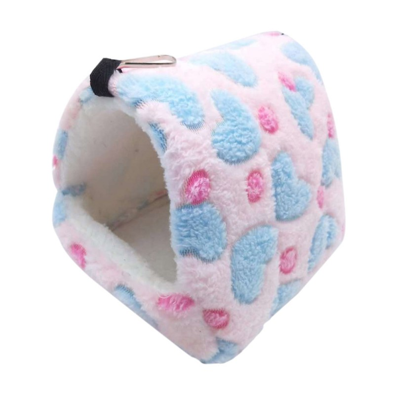New Small Pet Hamster Guinea Pig Chinchilla Rabbit Squirrel Hedgehog Bed House Nest Winter Warm Bed House Rat Nest Hanging Bed