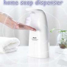 Automatyczny dozownik do mydła 250ml bezdotykowy indukcyjny piankowy dozownik mydła dozownik do mydła przenośny ręczny pralka dozownik mydła łazienkowego dozownik do mydła zestaw tanie tanio CN (pochodzenie) dropshipping wholesale pink white