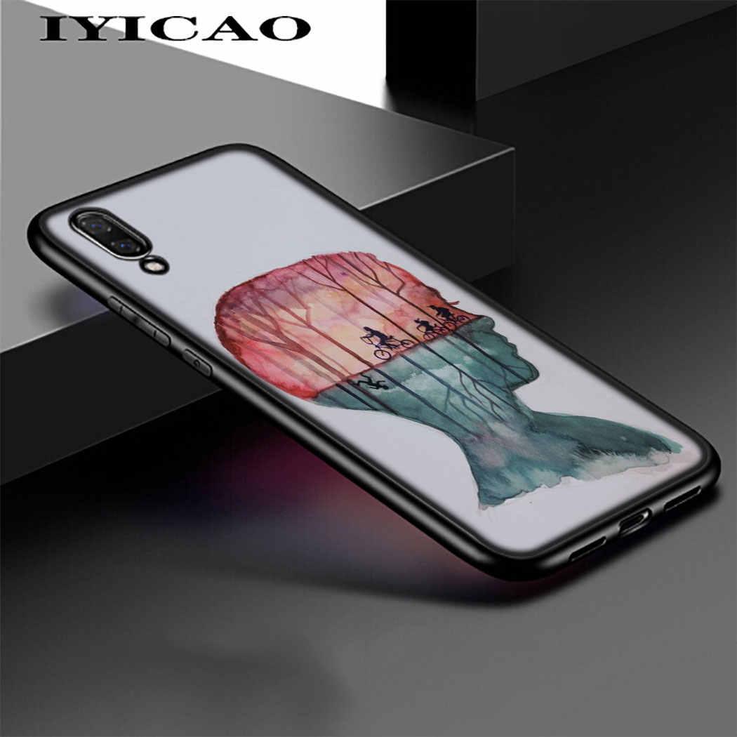 זר דברים חג המולד אורות רך טלפון עבור Huawei P8 P9 P10 P20 P30 לייט פרו P חכם Z P חכם בתוספת 2019 כיסוי