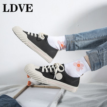 Classic Women Flats Casual Canvas Shoes Female Spring Trainers Fashion Vulcanize Sneakers