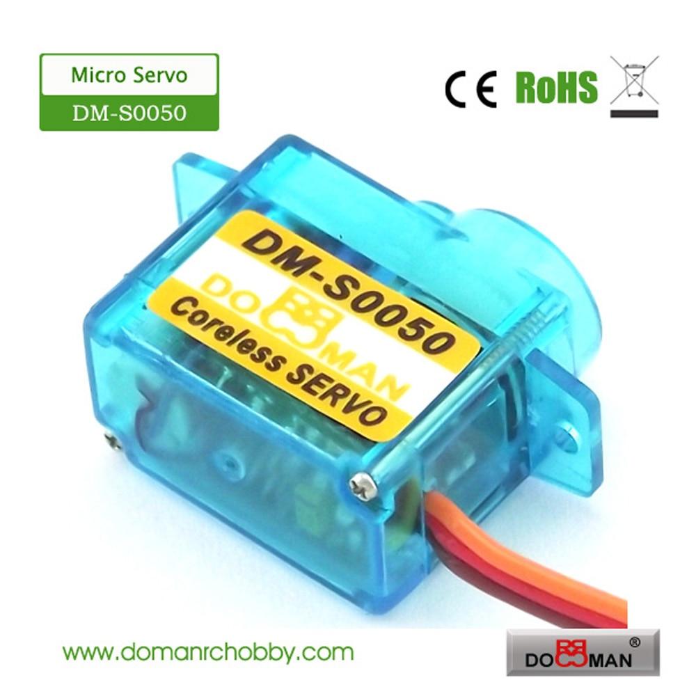 20 قطعة/الوحدة DM S0050 دومان RC DM S0050 5g coreless مايكرو الرقمية rc مضاعفات-في قطع غيار وملحقات من الألعاب والهوايات على  مجموعة 2