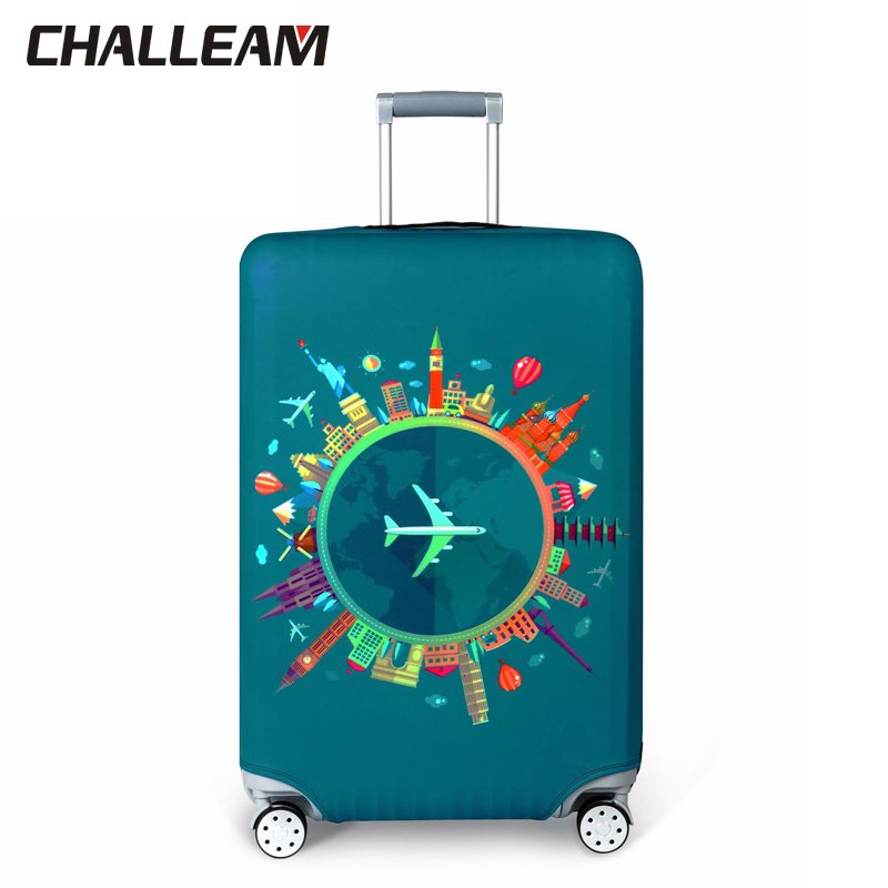 Suitcase Cover Protector Elastic Thicken Travel Dust Bag Baggage Luggage Covers Accessories Protective Case For The Suitcase 112