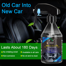 260ml 500ml auto repellente rivestimento ceramico Nano vetro placcato cristallo liquido auto interni gomma e plastica agente di ricostruzione