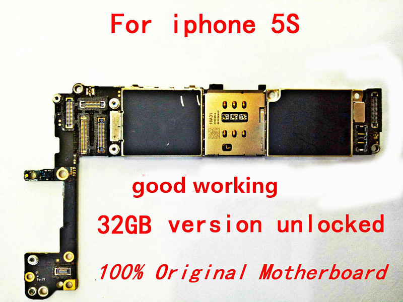 iPhone for 100%Original Gift Apple Unlocked ID And The Logicboard--Tool 5s Without-Touch title=