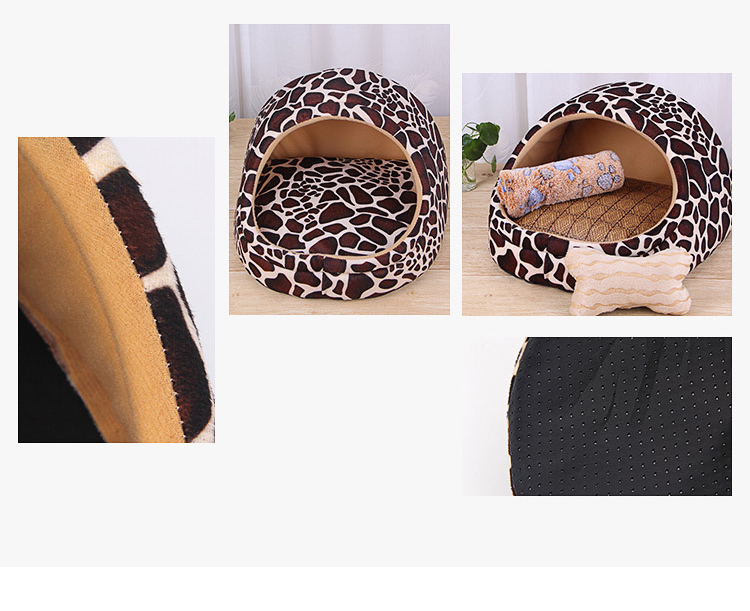 Pet Bed House-Eco-Dogs and Cats indoor Bed