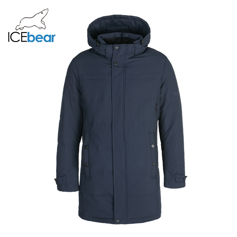 ICEbear 2019 High Quality Winter Male Down Jacket Stylish Parka Coat Thick Warm Men's Clothing DD4YA055F
