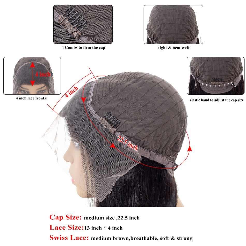 Brazylijski 4/27 mieszane wyróżnij peruka 13x4 koronkowa peruka na przód ludzki włos Choshim Remy Glueless blond wyróżnione peruki naturalne fale