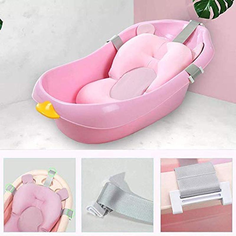 banheira do bebe dobravel suprimentos bebe 04