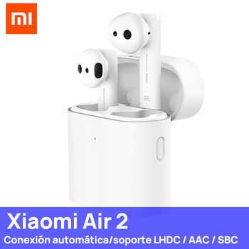 [Plaza ] Xiaomi Air 2 y 2S TWS verdadero auricular inalámbrico Bluetooth auriculares con micrófono estéreo interruptor Auto Pause Tap