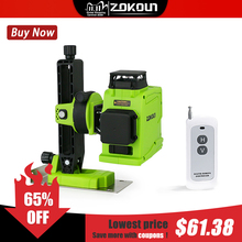 ZOKOUN 12 Lines 3d Self leveling Green lines laser level accurate Horizontal And Vertical Cross Professional construction tools
