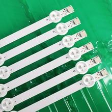 """12 Stuks Led Strip Voor Lg 47 """"ROW2.1 Rev 0.7 6916L 1174A 6916L 1175A 6916L 1176A 6916L 1177A,(3 * R1,3 * R2,3 * L1,3 * L2)"""