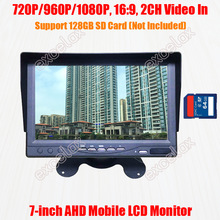 Sd-Card Mobile-Monitor CCTV Fishing Security 1080P AHD DVR Storage Recording Vehicle