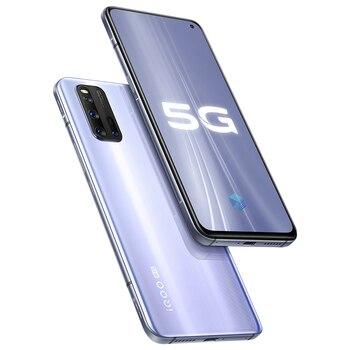 Vivo iQOO 3 5G Mobile Phone Snapdragon 865 6GB 128GB Cellular 4440mAh Battery 55W Dash Charging UFS 3.1 Cell Phones Electronics Mobile Phones