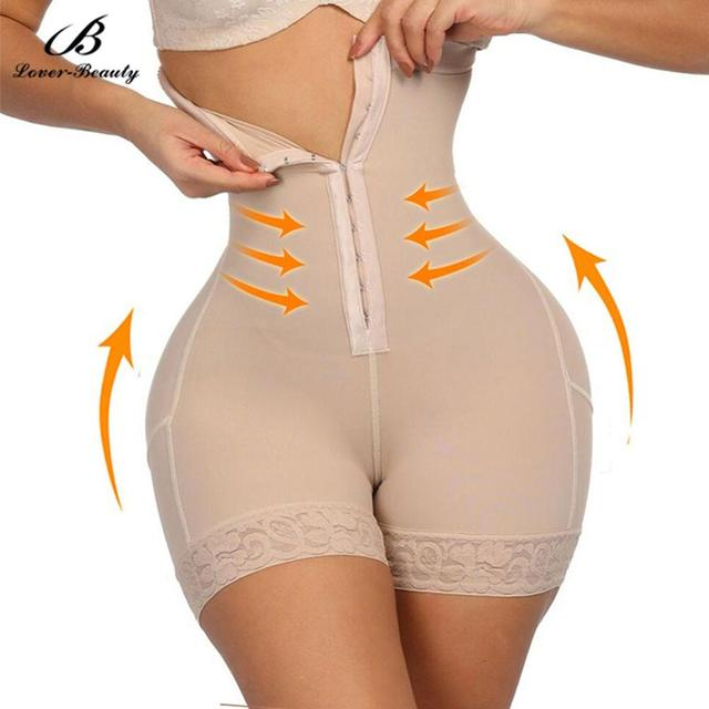 Lover Beauty Plus Size Butt Lifter Body Shaper Butt Enhancer Shapewear Bodysuit Slimming Pants Shapewear Underwear Control Panty