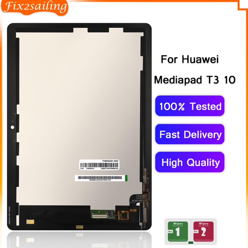 Pantalla LCD para Huawei MediaPad T3 10 AGS-L03 AGS-L09, montaje de digitalizador con pantalla táctil, para Huawei T3 10