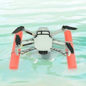 Image 4 - DJi mavic mini accessories spare parts landing gear flying on water training kit for mavic mini drone parts