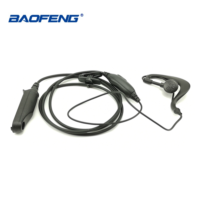 1/2pcs Baofeng UV-9R IP 67 Walkie Talkie 10 KM CB Radio Earpiece PTT Microphone Headset For Baofeng UV 9R BF-9700 GT-3WP BF-A58