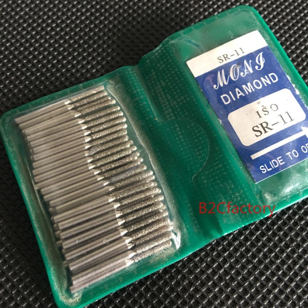 50PCS/Pack Dental FG Diamond Polishers Dental Teeth Polishing Burs For High Speed Handpiece SR11 SR12 SR13