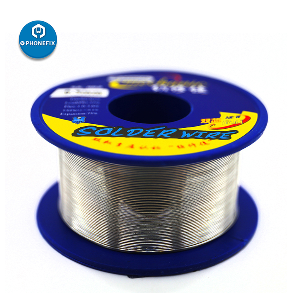 MECHANIC Solder Wire SX862 Tin Lead 0.3 / 0.5 / 0.6 / 0.8 / 1.0mm For IPhone Repair Tools Mechanic Rosin Core Solder Tin Wire