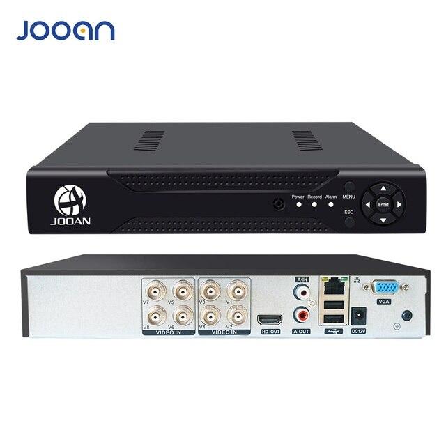 Jooan 8CH 1080N Cctv Ahd Dvr Qr Code Scan Snelle Toegang, Smartphone, pc Gemakkelijk Remote Toegang H.264 Digitale Video Recorder