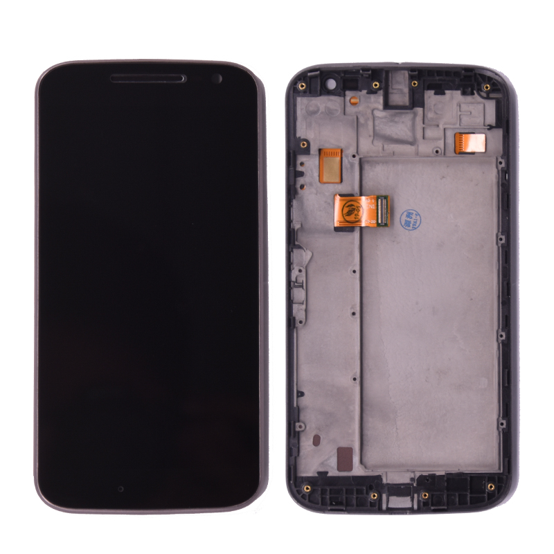 For Motorola moto G4 lcd display screen and touch digitizer assembly for Moto G4 XT1625 XT1621 XT1624 lcd screen with frame image