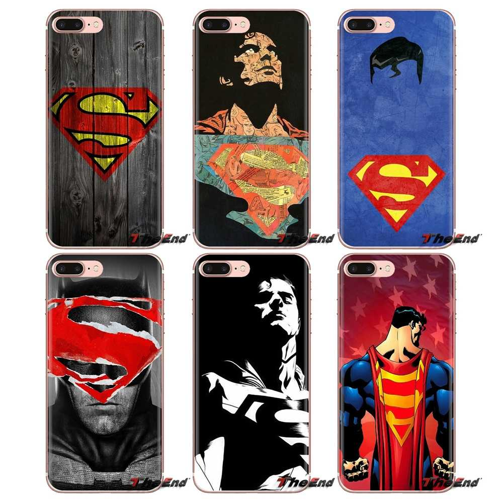 For Xiaomi Redmi 4A S2 Note 3 3S 4 4X 5 Plus 6 7 6A Pro Pocophone F1 Transparent Soft Shell Covers superhero Superman batman
