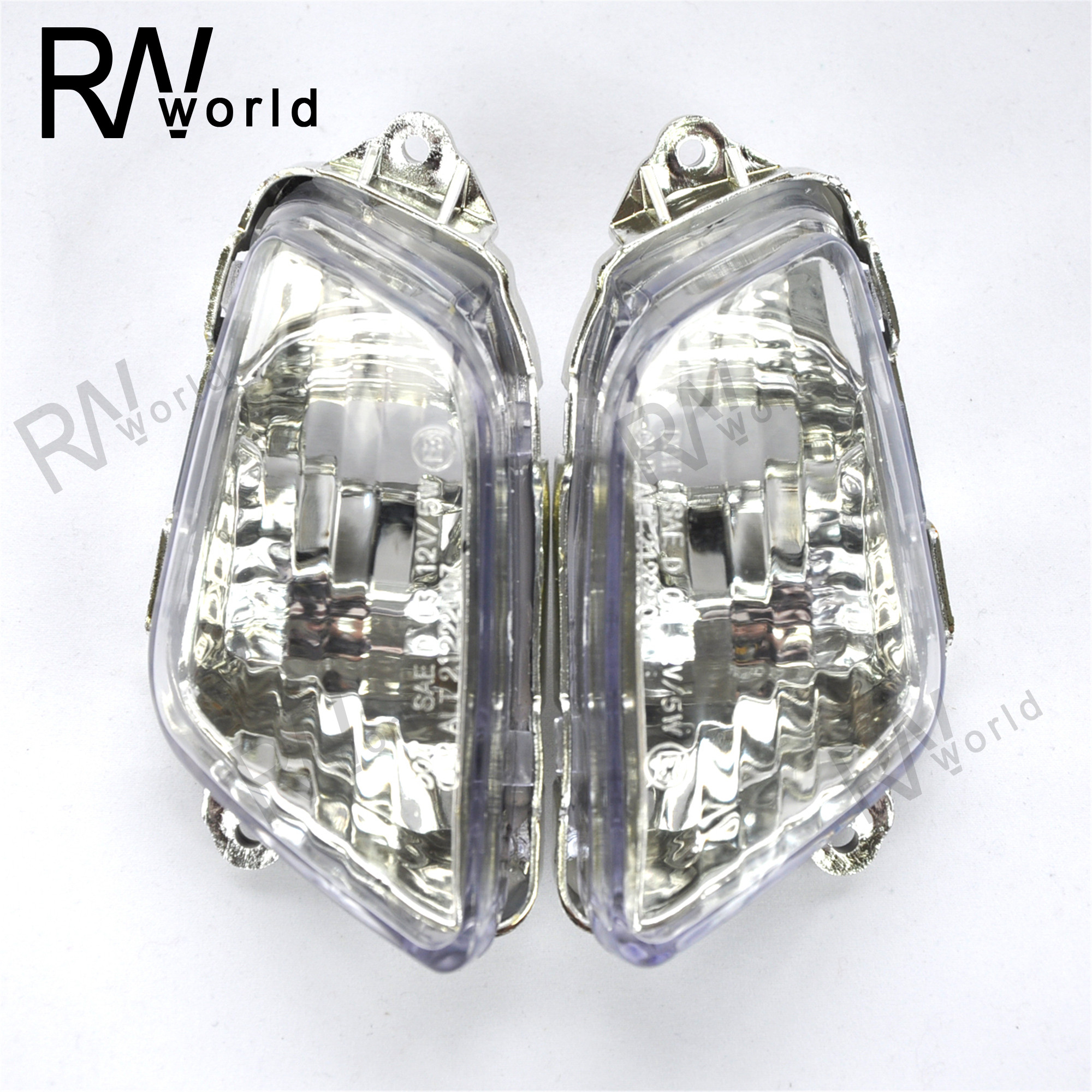 Motorcycle Front LED Turn Signal Lights Lens Covers For HONDA CBR1100XX CBR1100 XX CBR 1100XX 1997-2006 1998 00 01 02 03