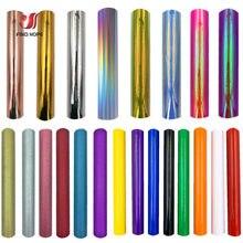 Multicolor samoprzylepne dekoracje stałe rolka winylu literowanie Film szklanka kalkomania Xmas karty DIY 30*25cm/50cm/100cm