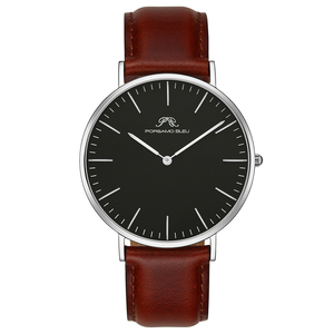 Image 2 - Dial 40mm mens simple fashion watch DW same 316L stainless steel Japanese Shiying movement