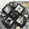 Surprise Party's Love Explosion Box Gift for Anniversary Scrapbook DIY Photo Album birthday Christmas Valentine's Day Gift