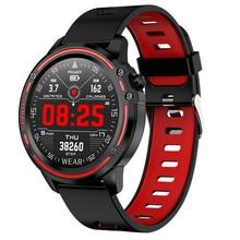 L8 akıllı saat erkekler spor izci kalp hızı kan basıncı izleme akıllı bilezik Ip68 su geçirmez spor Smartwatch