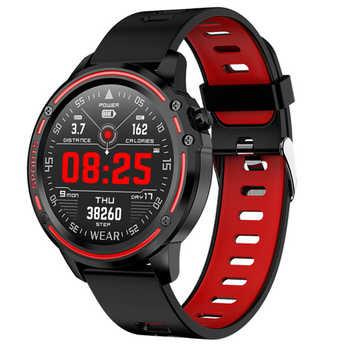 Reloj inteligente L8 para hombres, monitor de ritmo cardíaco, monitoreo de presión arterial, pulsera inteligente Ip68, Smartwatch deportivo resistente al agua