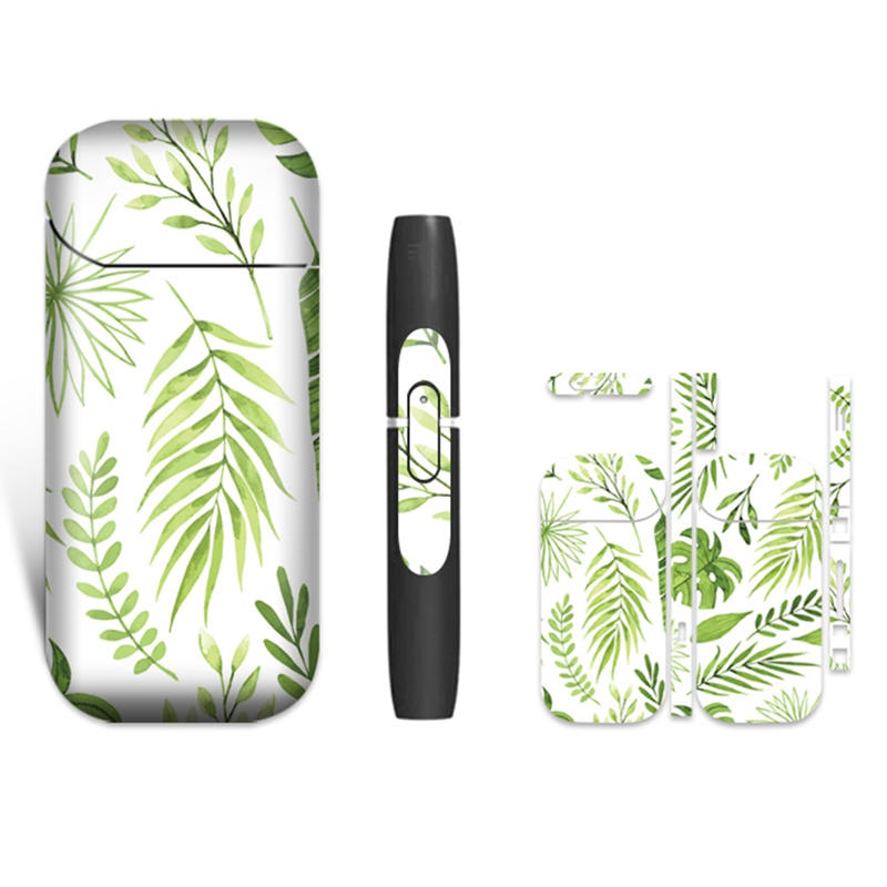 18 Colors 3M High Quality Printing Decorative Stickers Skin Skin Sticker Protective Cover Suitable For IQOS 2.4 Plus
