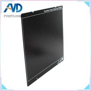 Prusa i3 MK3 MK52 черный двухсторонний текстурированный PEI пружинный стальной лист с порошковым покрытием PEI сборный лист для Prusa i3 MK2.5S mk3 MK3S