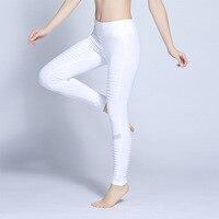 New fitness lady fold pants Amazon brocade cotton pants summer outdoor s leggings