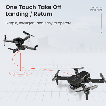 H3 Mini Drone With 4k Camera Foldable Quadcopte WIFI Wide High Hold Professional RC Helicopter One-Key Return RC Drone Toys 5