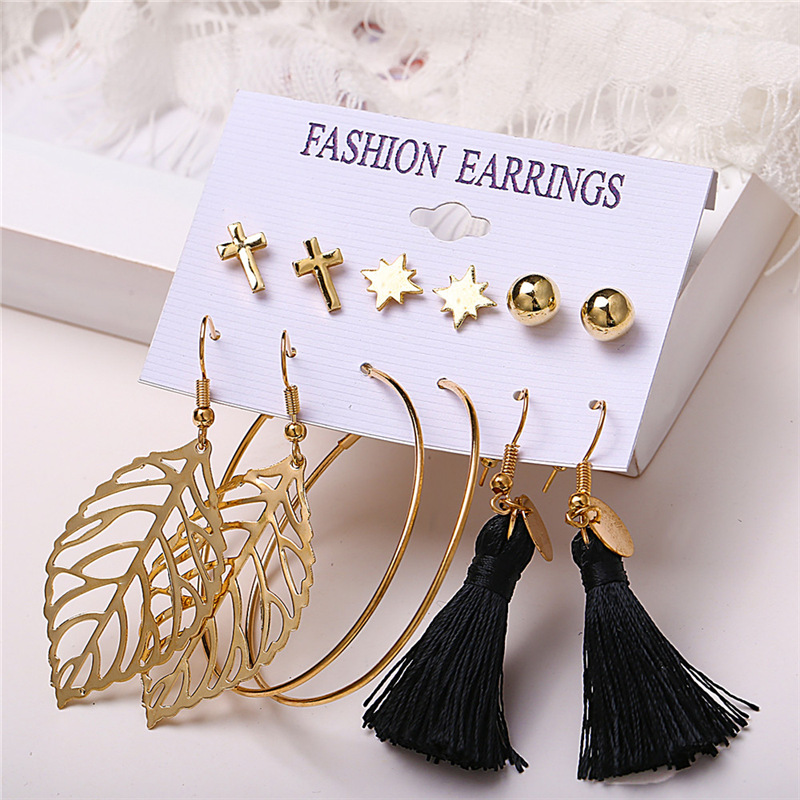H4845efff95b54ea68938540e08d8e986b - IF ME Fashion Vintage Gold Pearl Round Circle Drop Earrings Set For Women Girl Large Acrylic Tortoise shell Dangle Ear Jewelry