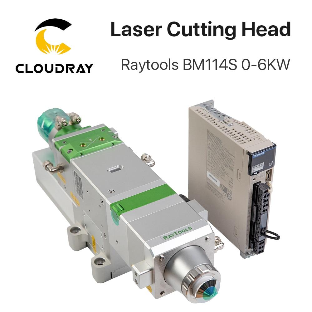 Raytools BM114S 0-6 KW Auto Focusing Fiber Laser Cutting Head For Metal Cutting