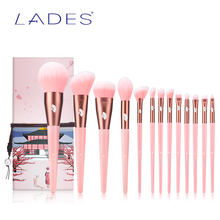 LADES 13PCS ProfessionalMakeup brushes Sets Foundation Powde