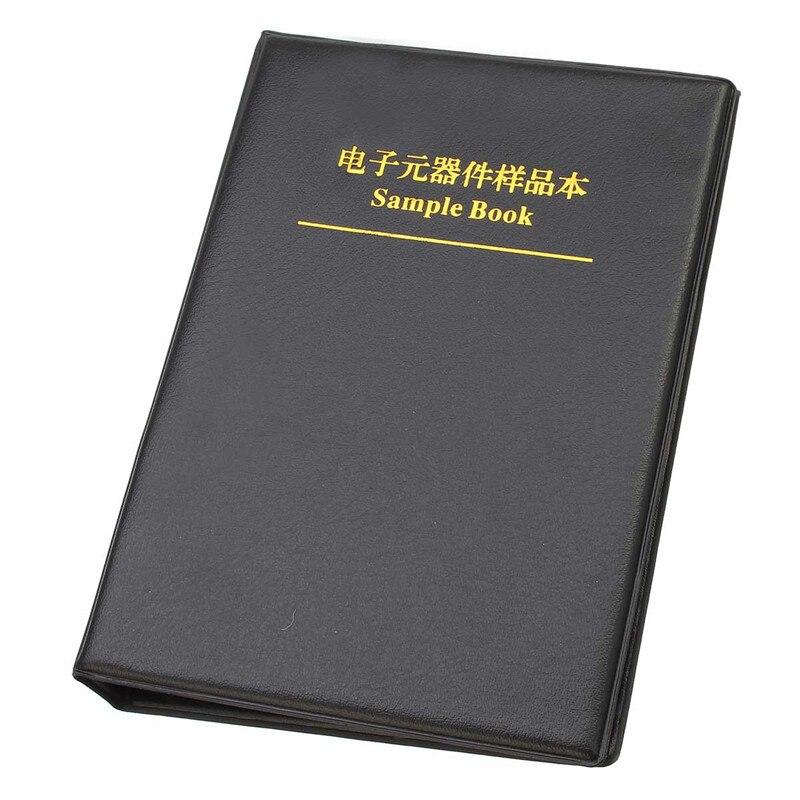 0402/0603/0805/1206 электронный компонентный резистор конденсатор индуктор пустые SMD компоненты пустая книга образцов