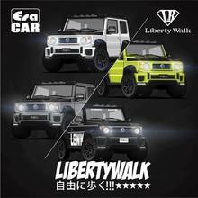 Dönemi araba 1:64 LB çalışır Liberty yürüyüşü Suzuki G mini Jimny pres döküm Model araba