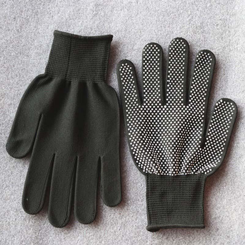 Knitted Gloves Winter Touch Screen Dispensing Non-slip Outdoor Plus Velvet Warm Gloves