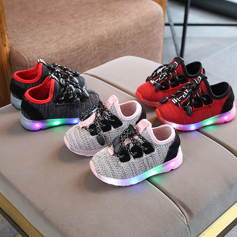 High Quality Cute Casual Baby Shoes Hot Sales Cool Fashion Baby Sneakers Mesh Breathable Baby Boys Girls Shoes Footwear