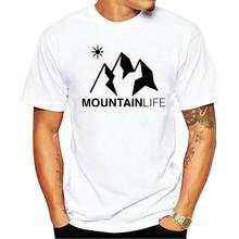 T-shirt vie de Montagne BIO Ski de Montagne, Snowboard Escalade Sport