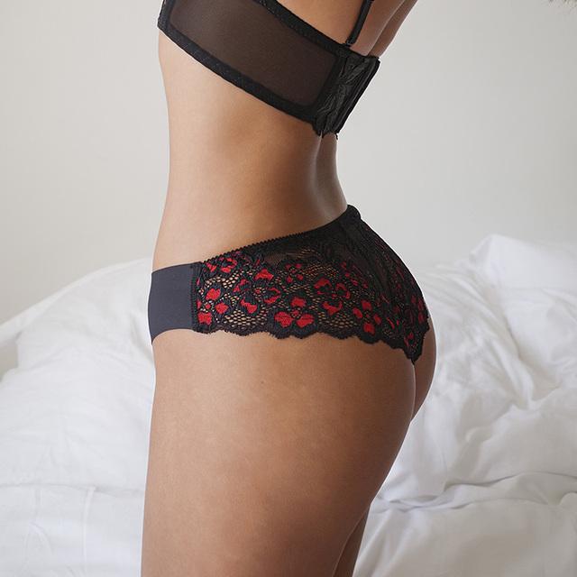 Panties Women Lace Low-waist Briefs