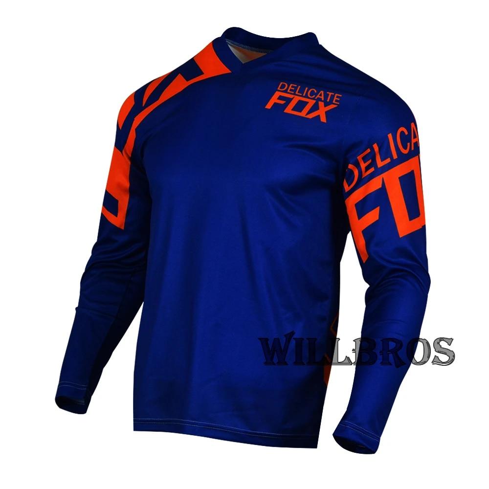 ORANGE XL FOX TEE SHIRT BLACK